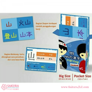 FlashCard Kanji N5 Pocket Size