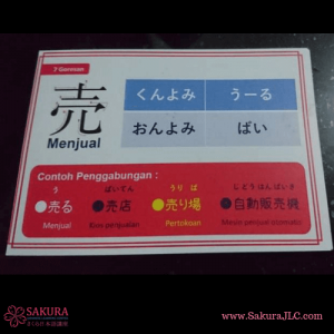 FlashCard Kanji N4 Pocket Size